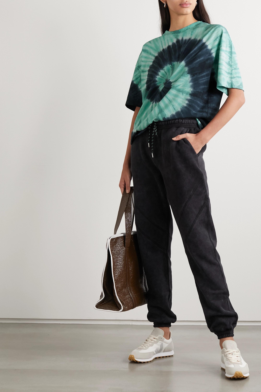 Ninety Percent + NET SUSTAIN tie-dyed organic cotton-jersey T-shirt