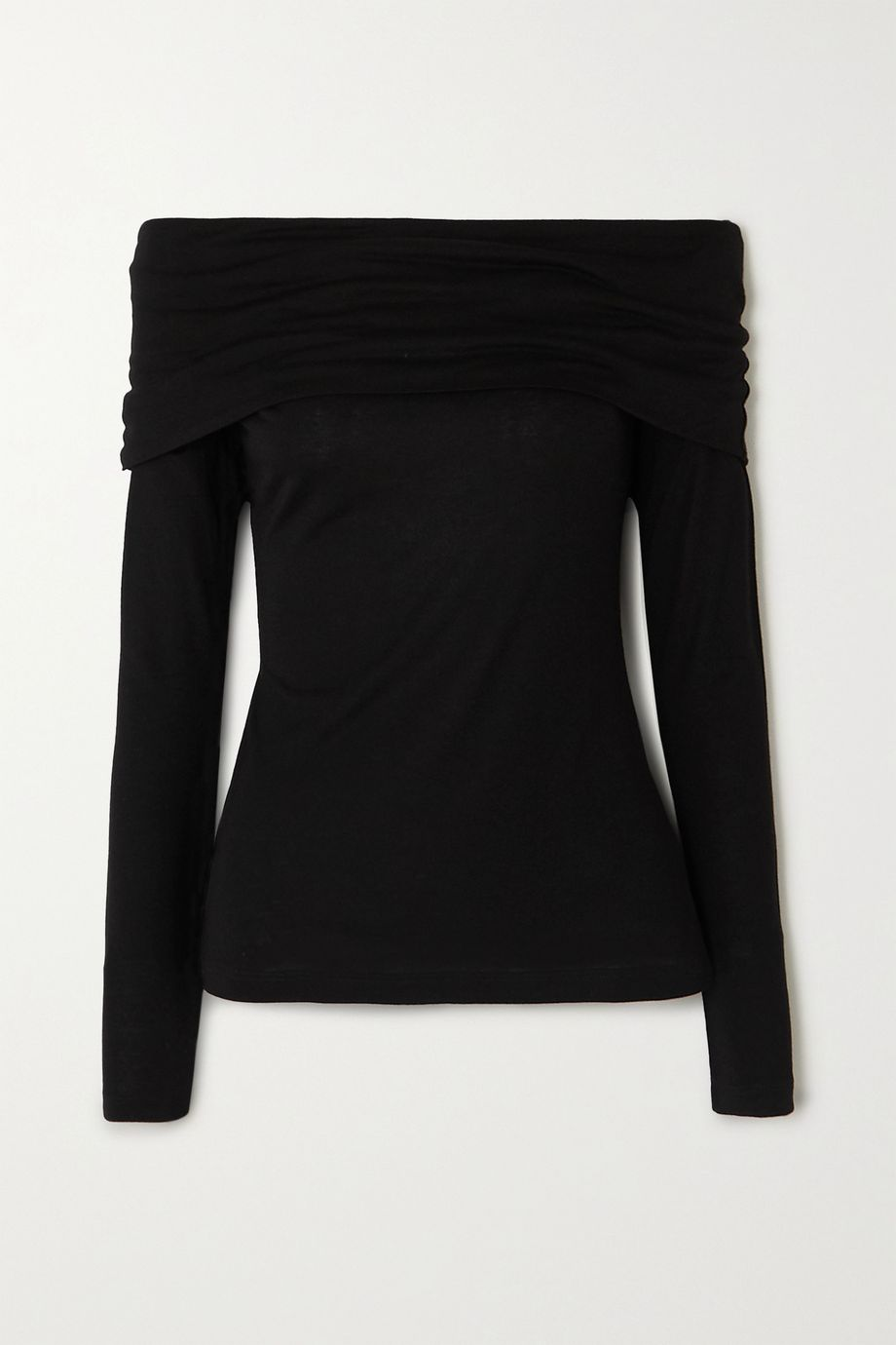 Ninety Percent + NET SUSTAIN off-the-shoulder Tencel top