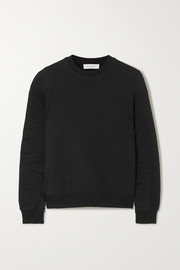Ninety Percent + NET SUSTAIN Stephanie organic cotton-terry sweatshirt