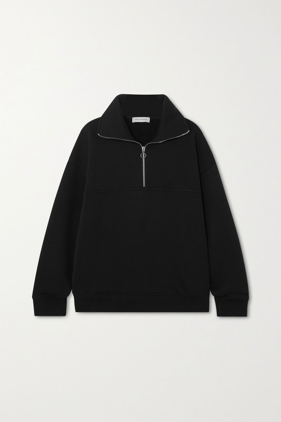 Ninety Percent + NET SUSTAIN organic cotton-jersey sweatshirt
