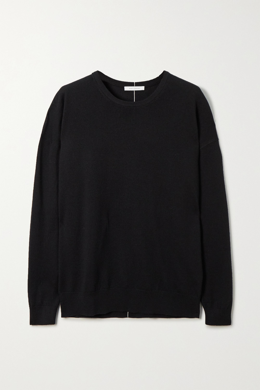 Ninety Percent + NET SUSTAIN organic merino wool sweater