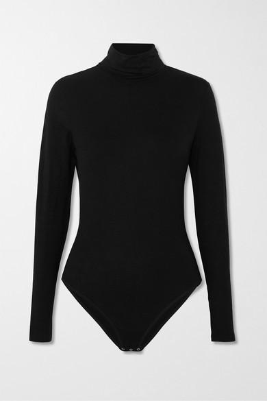Tencel Turtleneck Bodysuit