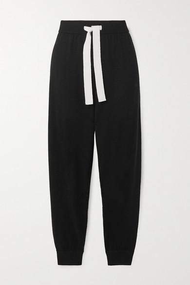Organic Wool Track Pants