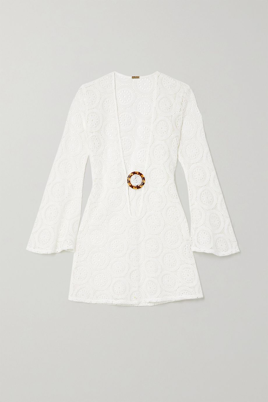 Dodo Bar Or Jane crocheted cotton mini dress
