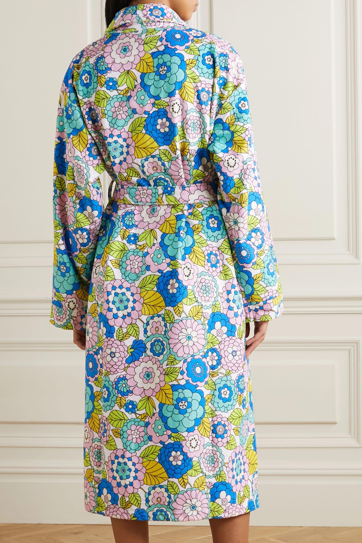 Dodo Bar Or Luba floral-print terry robe