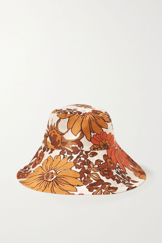 Dodo Bar Or Daria floral-print cotton bucket hat