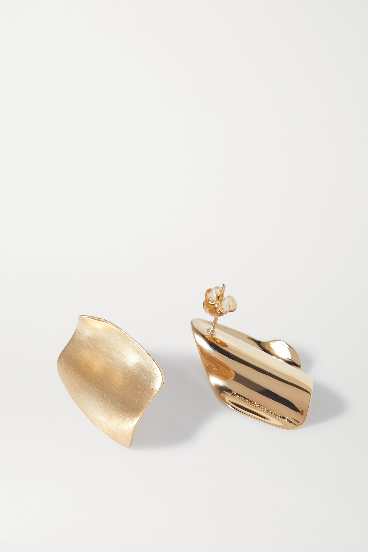 Completedworks Ohrringe aus Gold-Vermeil