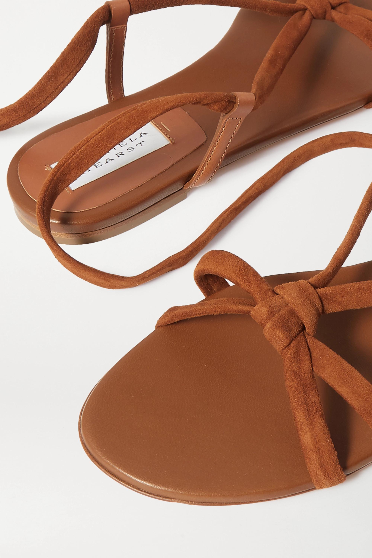 Gabriela Hearst Reeves 皮革绒面革凉鞋