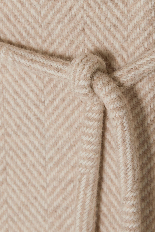 LE 17 SEPTEMBRE Belted wool-blend coat