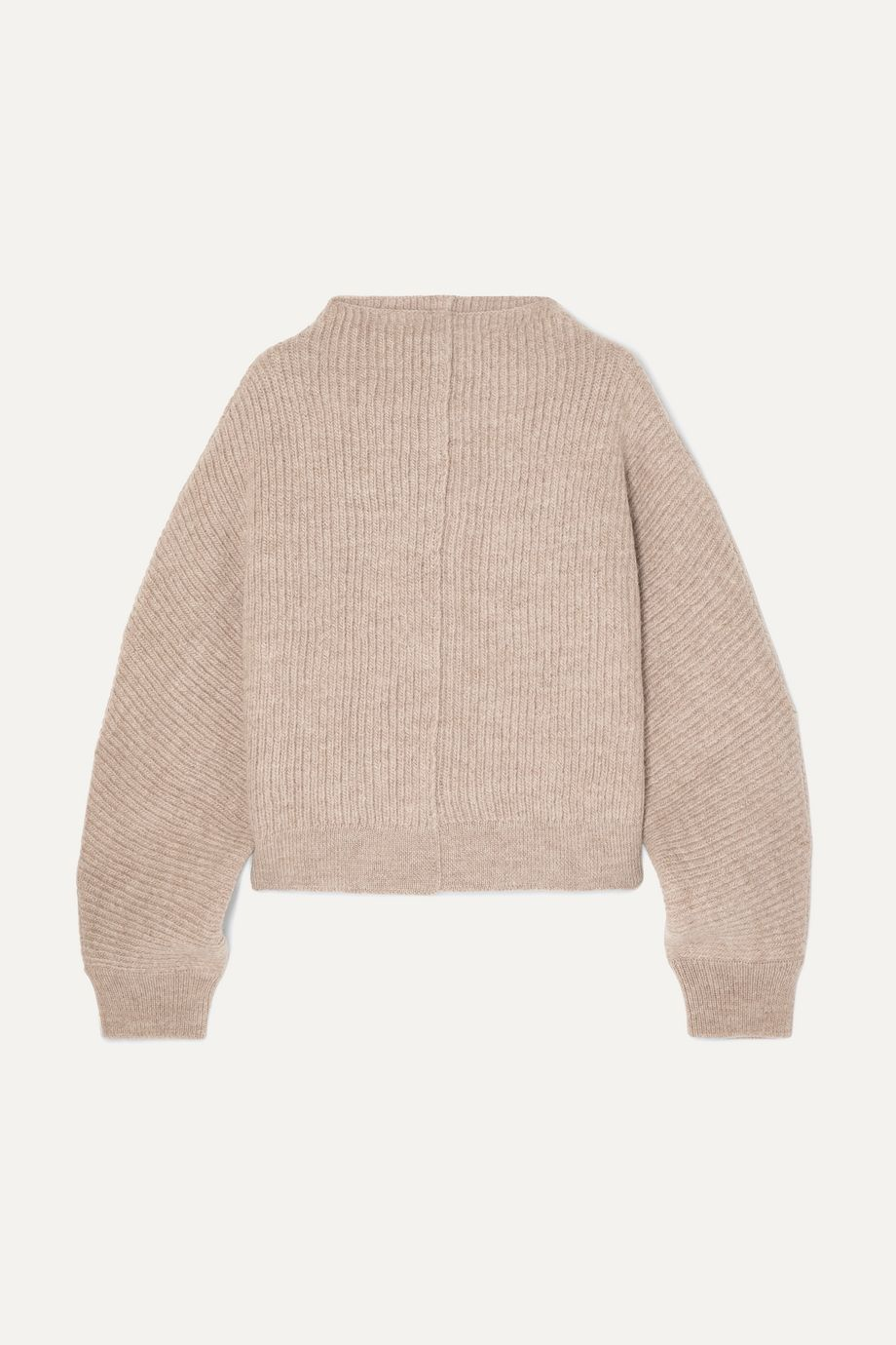 LE 17 SEPTEMBRE Ribbed wool sweater