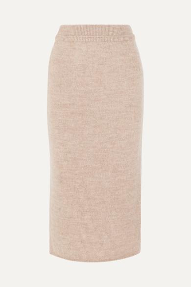 LE 17 SEPTEMBRE Wool midi skirt