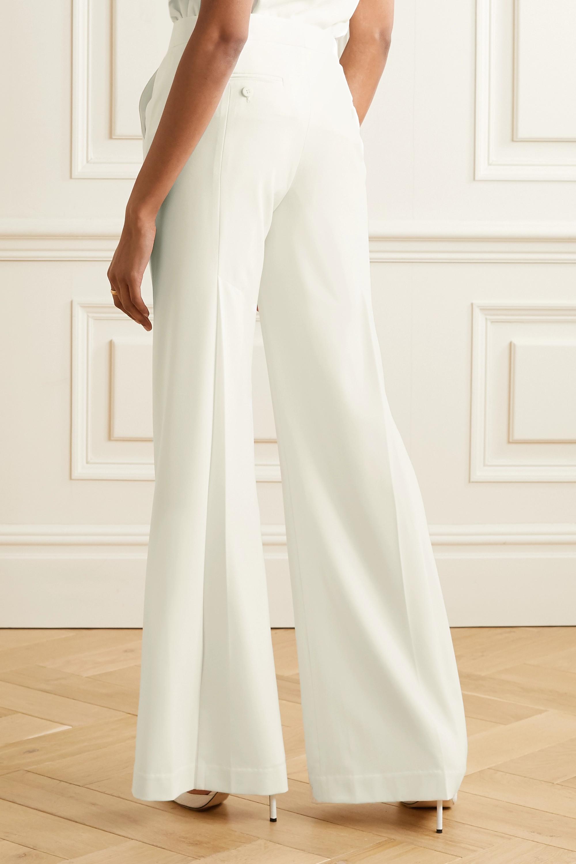 Halston Crepe wide-leg pants