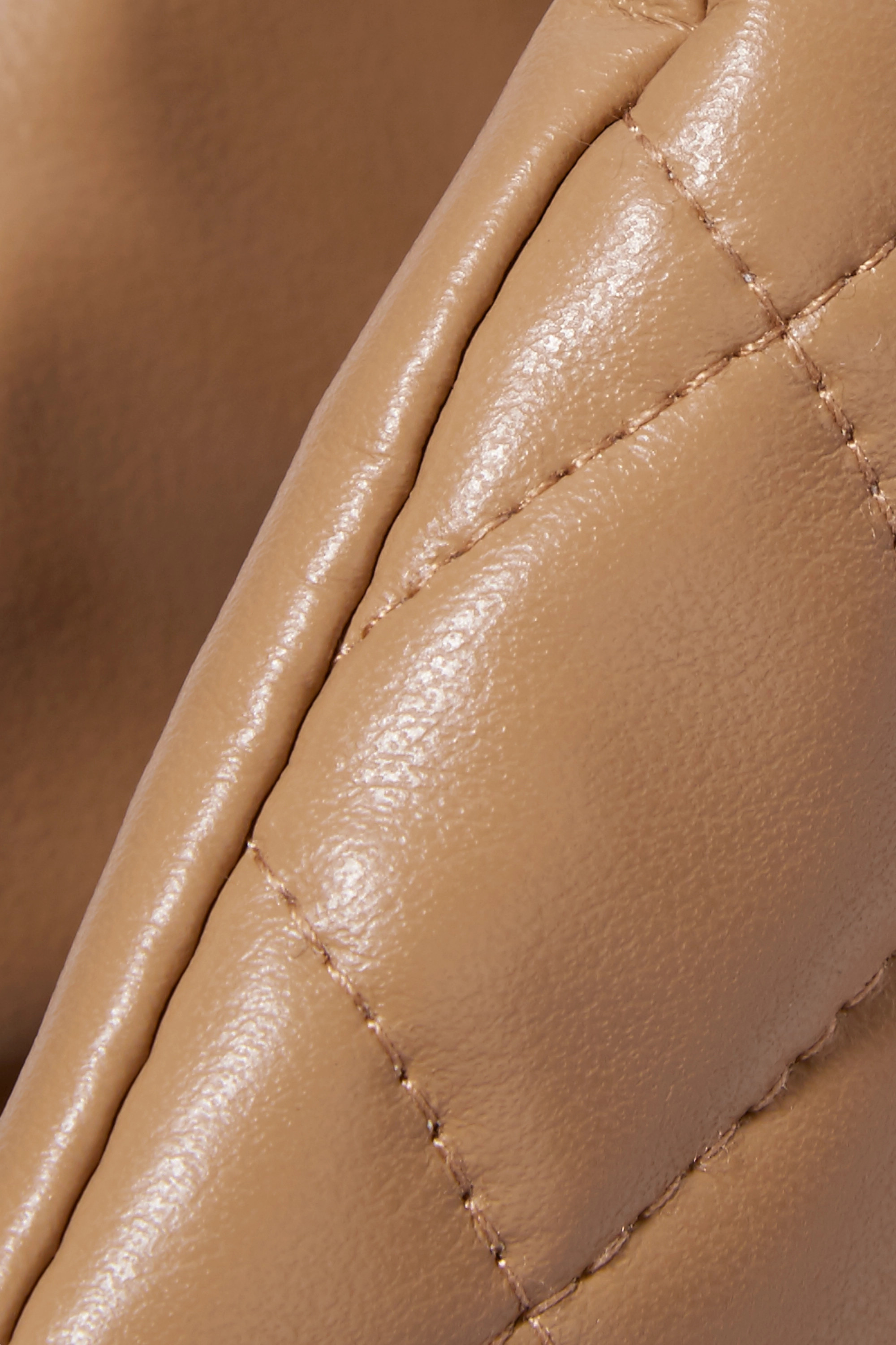 A.W.A.K.E. MODE Liv quilted faux leather tote