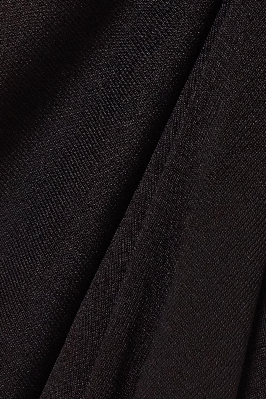 Matteau Maxikleid aus Stretch-Strick mit Rückenausschnitt