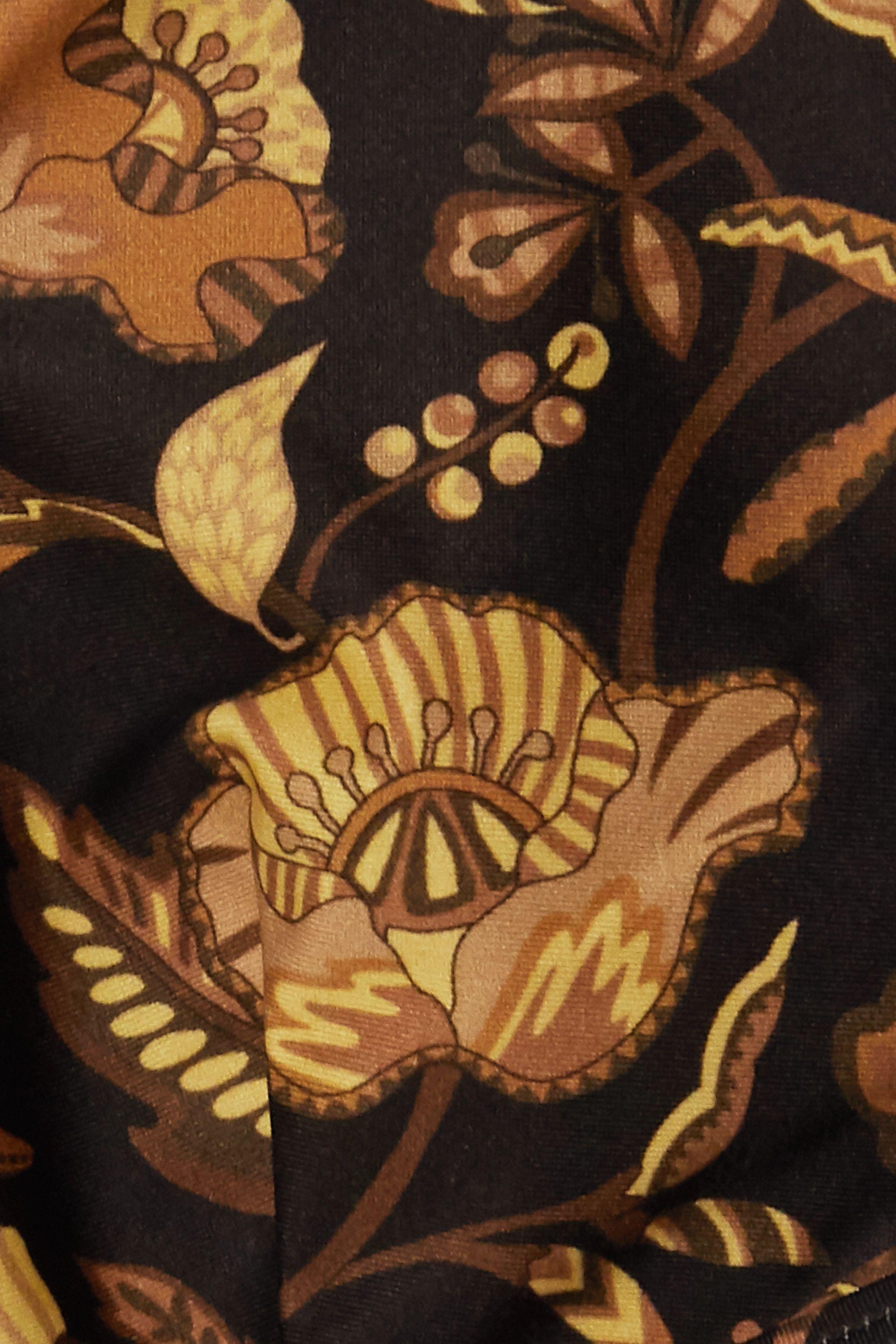 Matteau The Plunge floral-print bikini top
