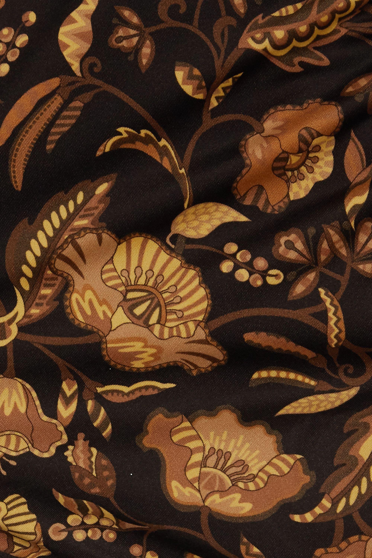 Matteau The High Waist floral-print bikini briefs