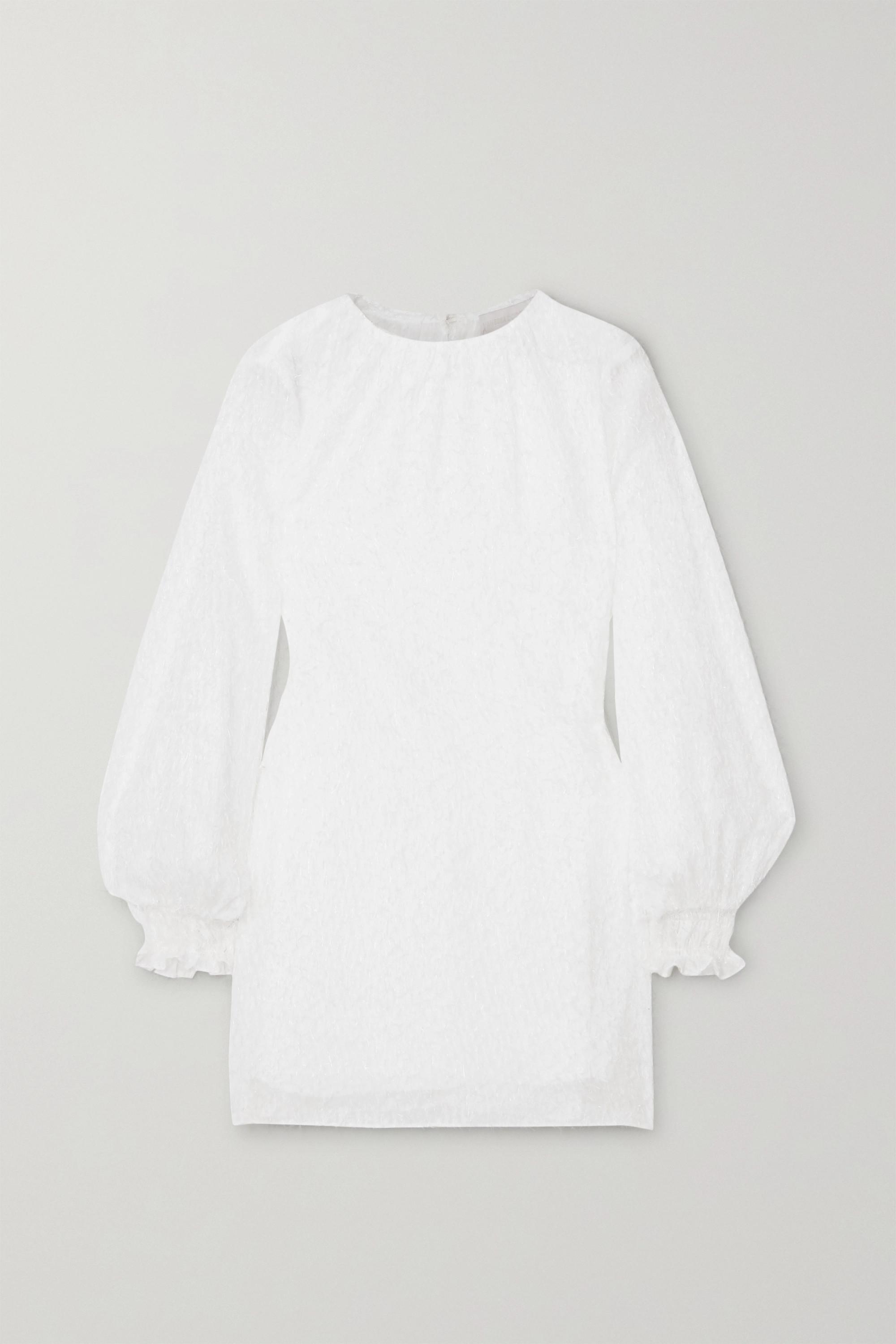 Vanessa Cocchiaro The Eleanor fil coupé chiffon mini dress