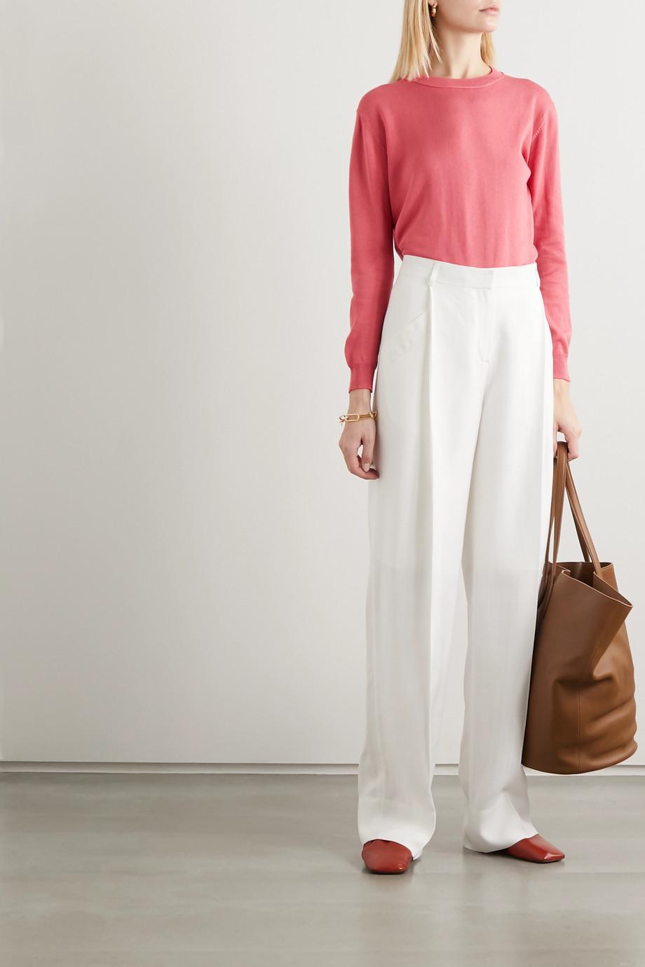 Alexandra Golovanoff Françoise cotton and silk-blend sweater