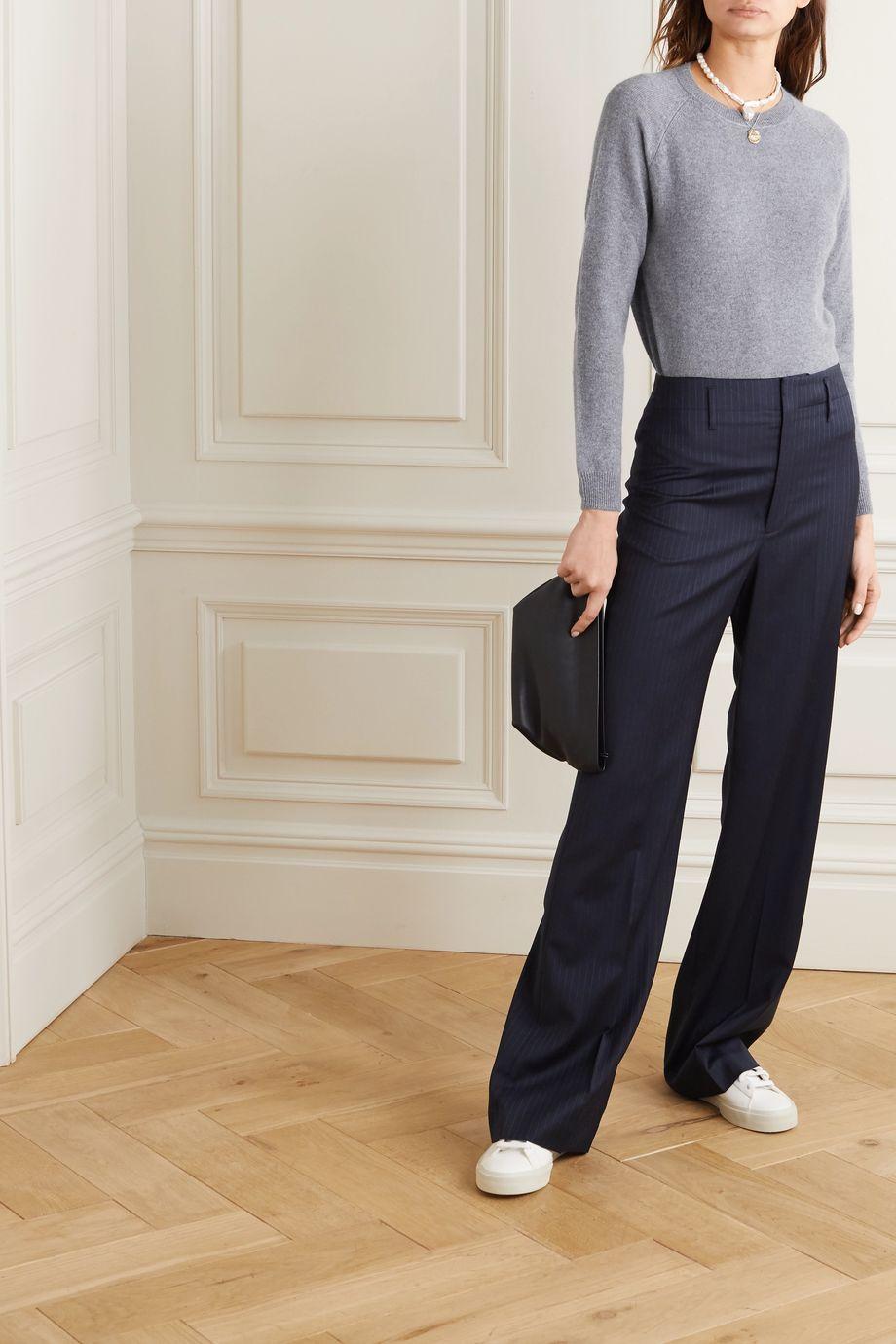 Alexandra Golovanoff Mila mélange cashmere sweater