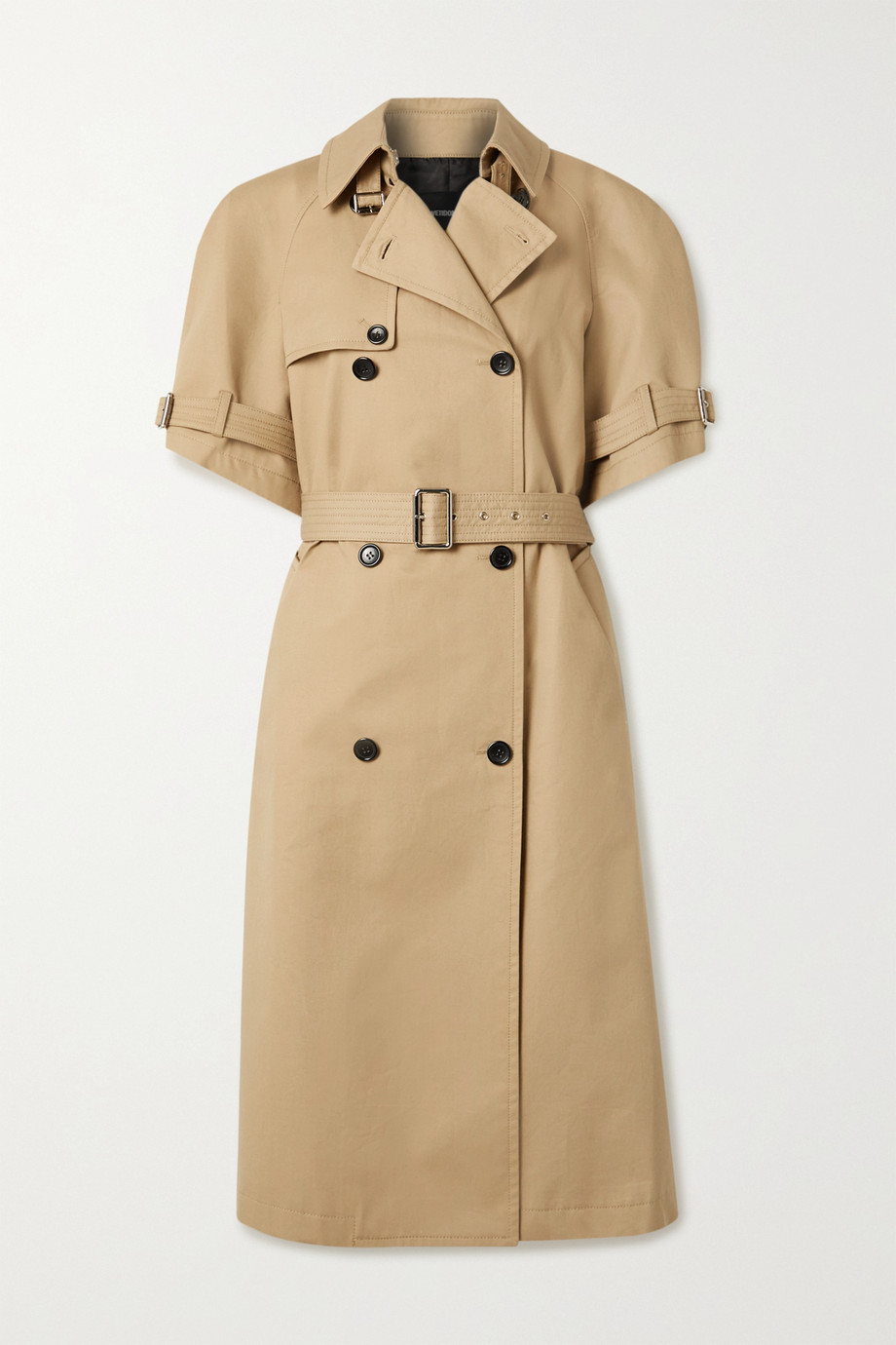 we11done Cotton-gabardine trench coat