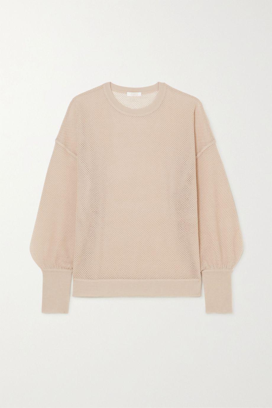 Eres Futile open-knit cashmere sweatshirt