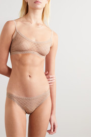 Eres Torsade stretch-Leavers lace briefs