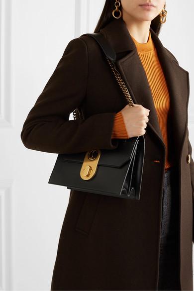 Elisa Large Leather Shoulder Bag by Christian Louboutin