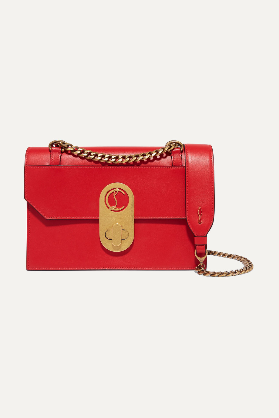 Christian Louboutin Elisa small leather shoulder bag