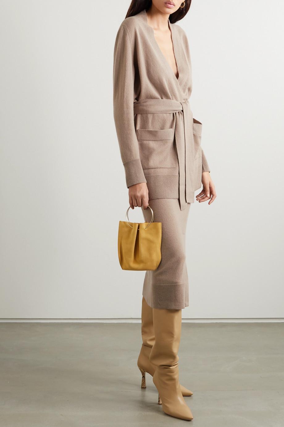 Agnona Belted cashmere cardigan