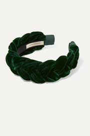 Lorelei braided velvet headband