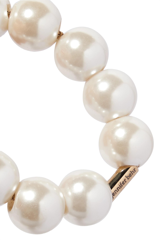 Jennifer Behr Henley faux pearl hair tie