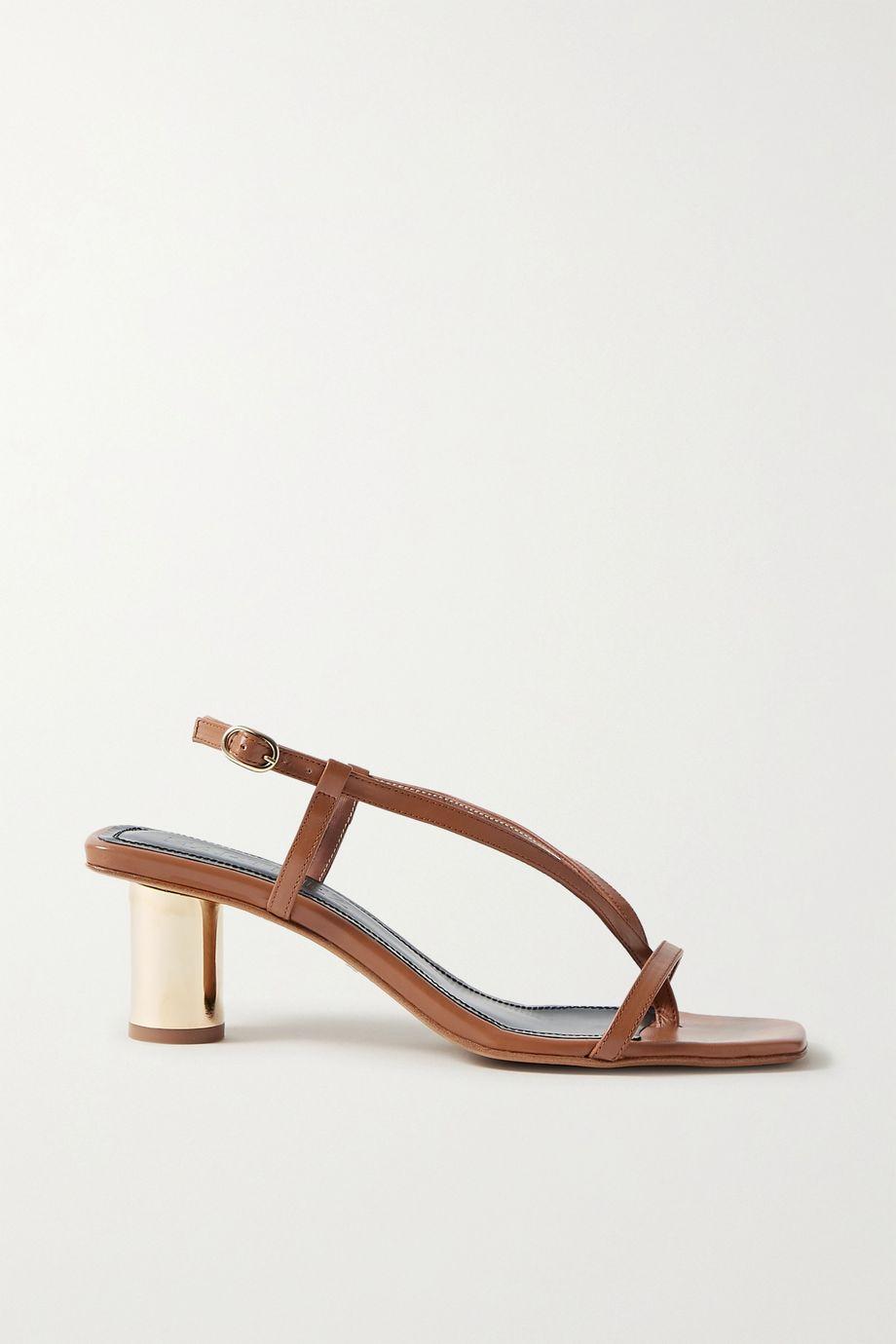 Souliers Martinez Melilla leather sandals