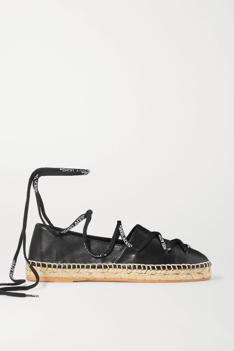 Off-White Leather espadrilles