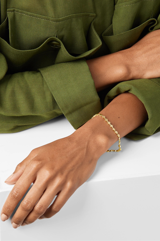 Jennifer Meyer Mini Circle Armband aus 18 Karat Gold