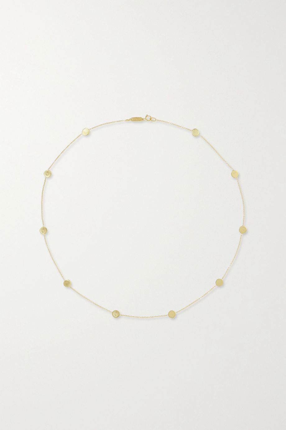 Jennifer Meyer Collier en or 18 carats Circle-By-the-Inch
