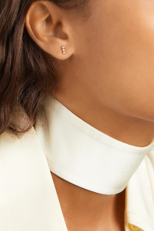 Jennifer Meyer Ohrringe aus 18Karat Gold mit Diamanten
