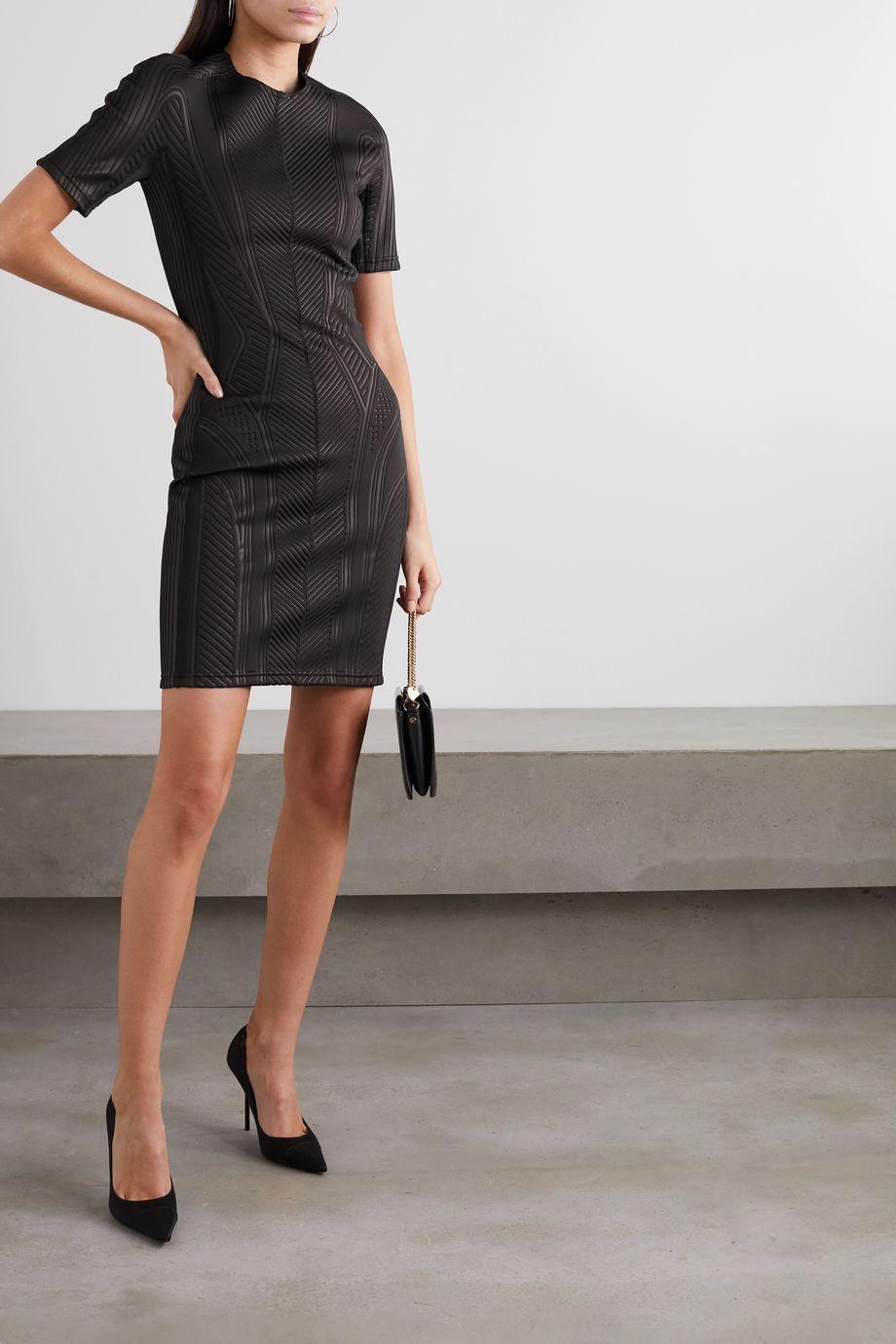 Mugler Neoprene mini dress