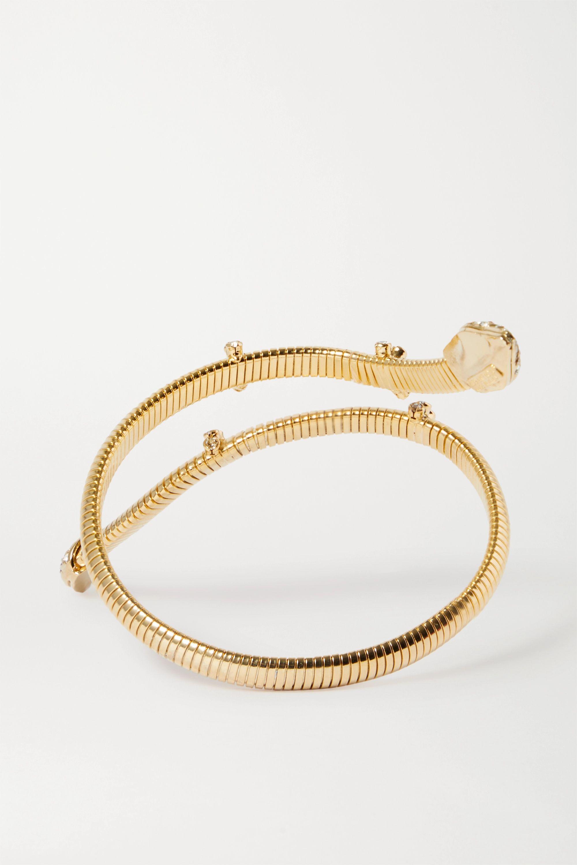 Rosantica Giza gold-tone crystal bracelet