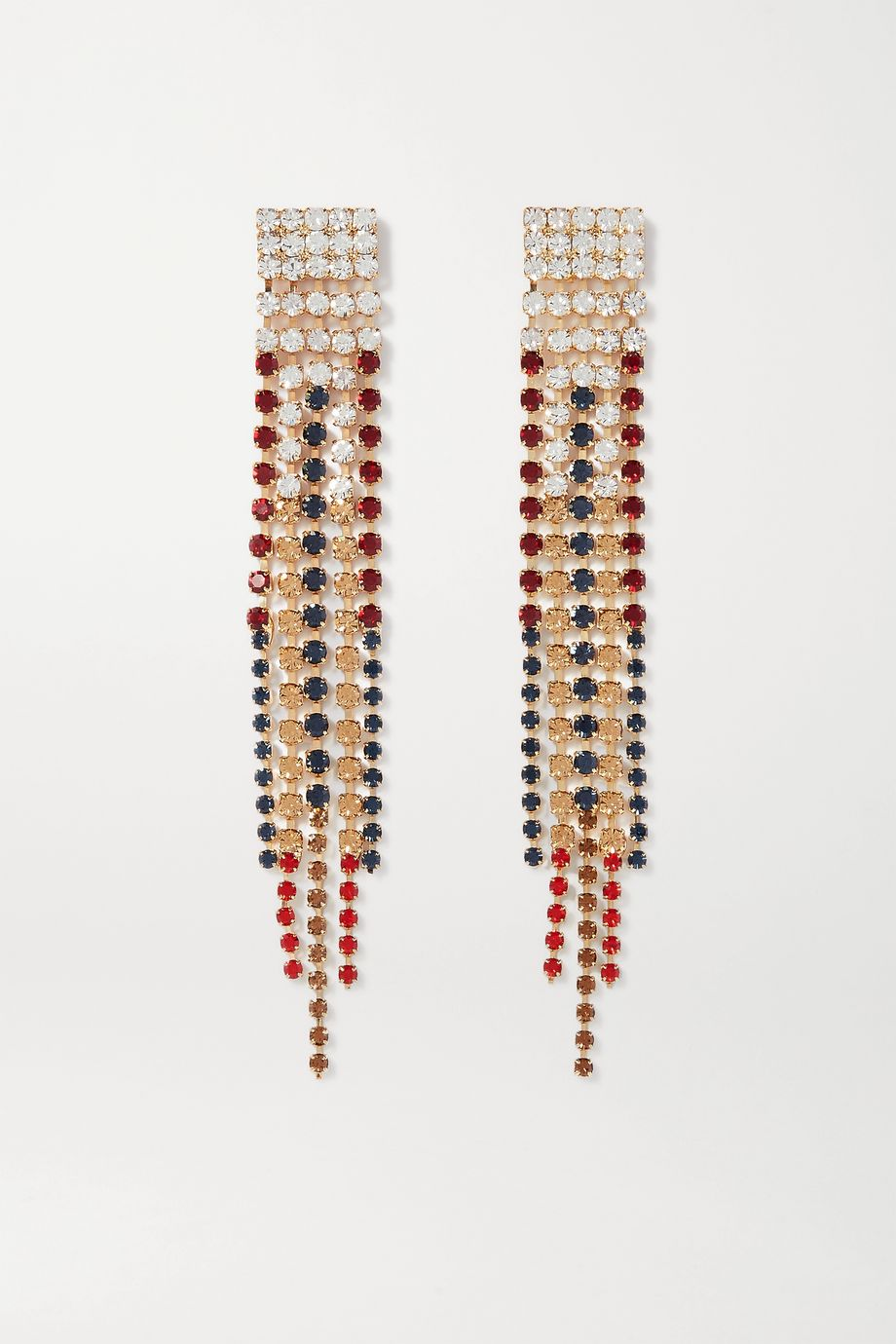 Rosantica Iside gold-tone crystal earrings