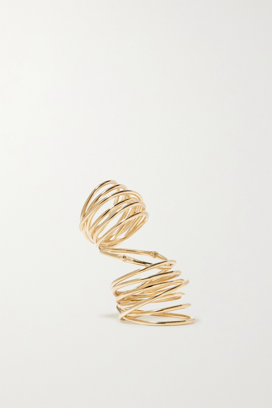 SARAH & SEBASTIAN Bound Ring aus Gold-Vermeil