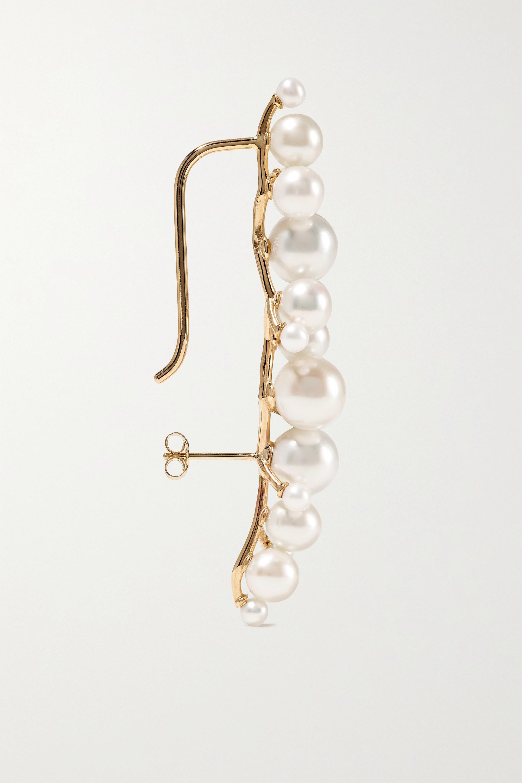 SARAH & SEBASTIAN Dream Buoy 10-karat gold pearl earring