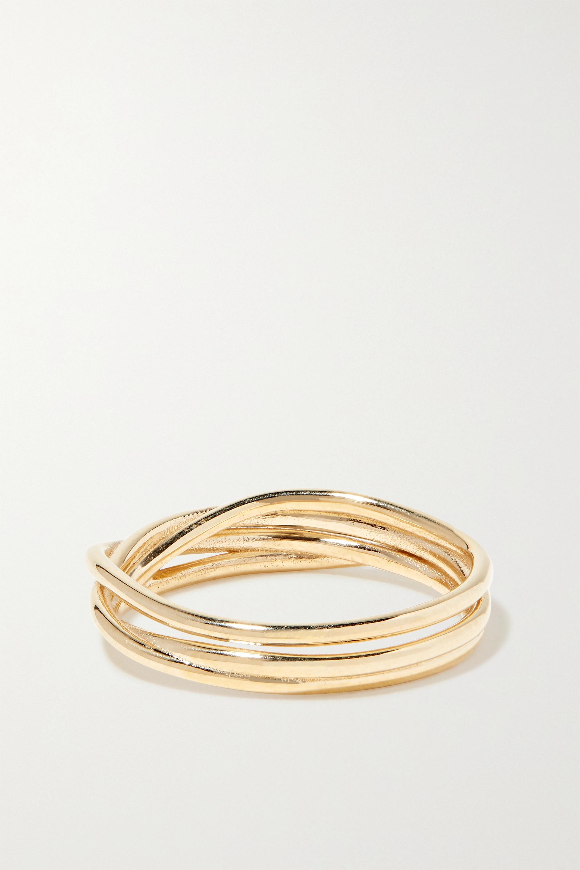SARAH & SEBASTIAN Bound 10-karat gold ring