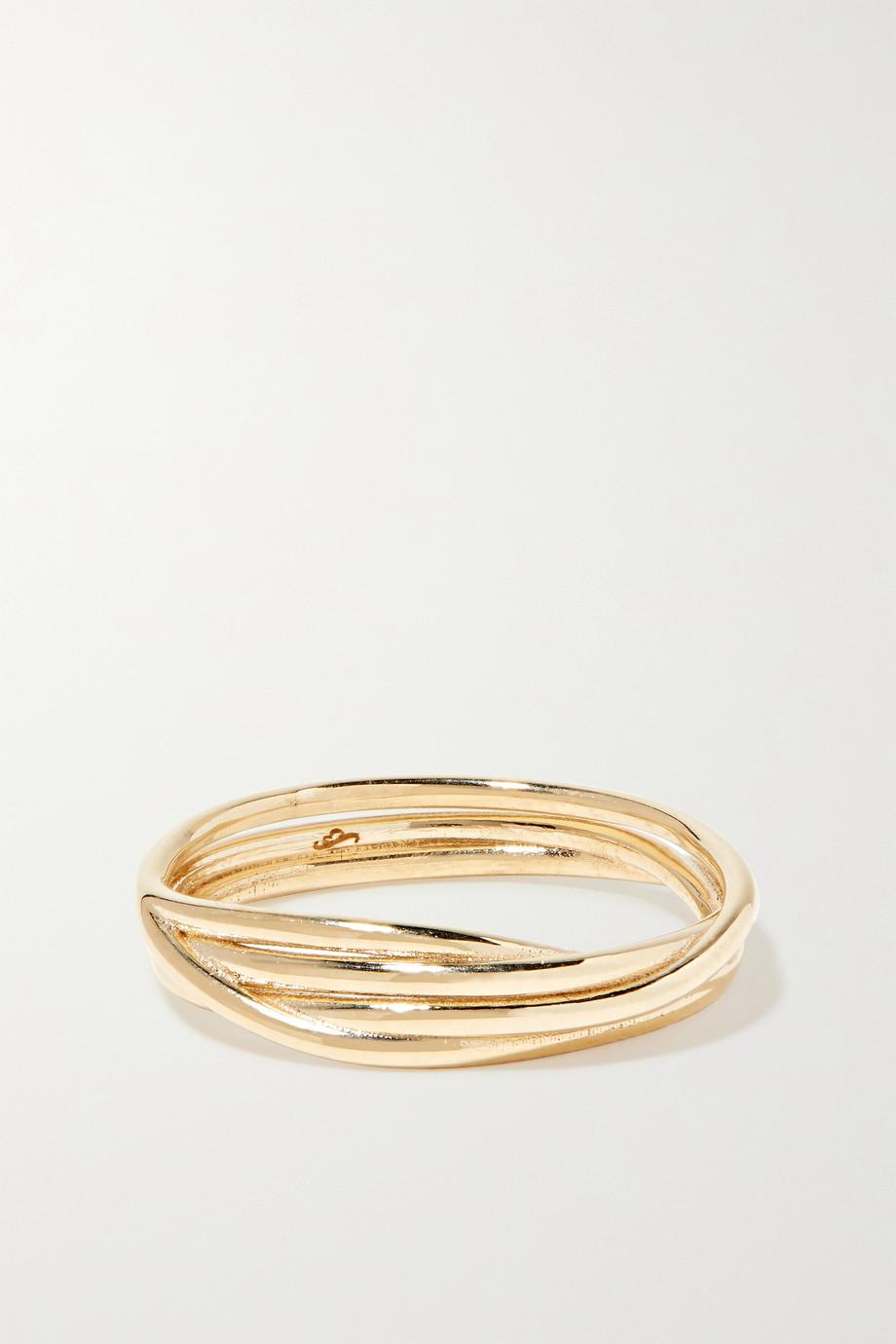 SARAH & SEBASTIAN Bound Ring aus 10 Karat Gold