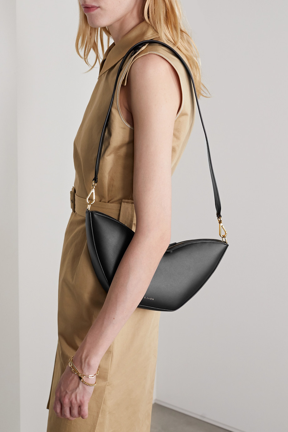 S.Joon Tulip leather shoulder bag