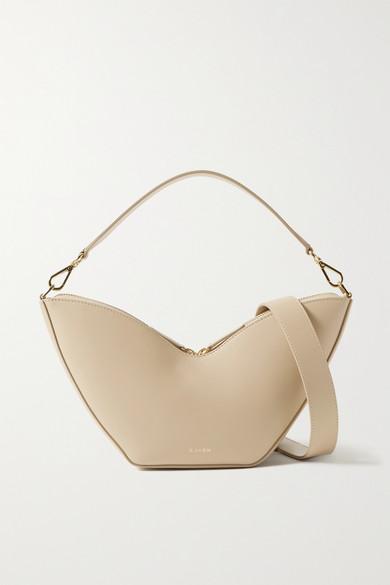 Tulip Leather Shoulder Bag by S.Joon