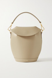 S.Joon Milk Pail leather tote