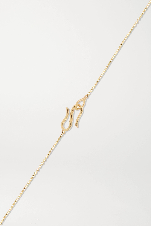 Alice Cicolini Bubble Kimono 14-karat gold multi-stone necklace