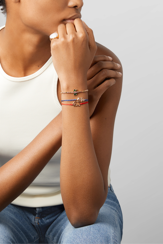 Yvonne Léon Armband aus 18Karat Gold mit mehreren Steinen