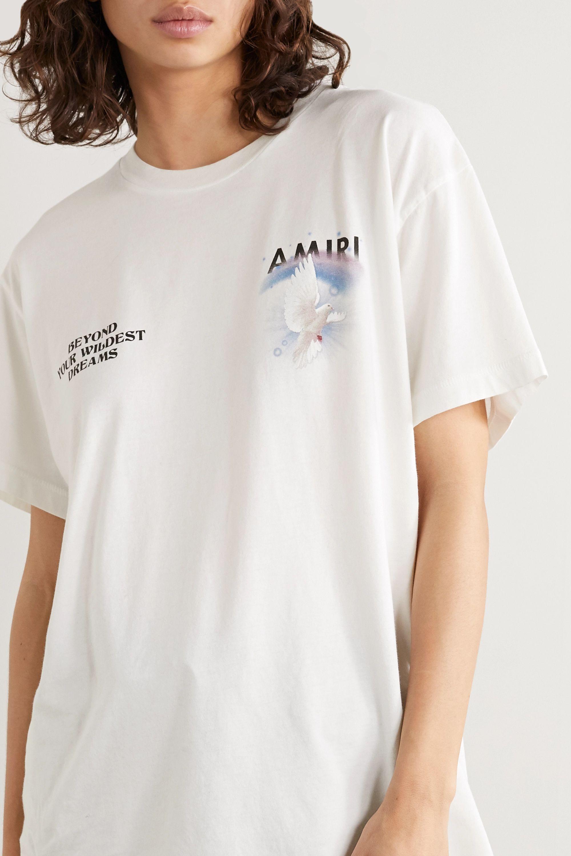 AMIRI Printed cotton-jersey T-shirt