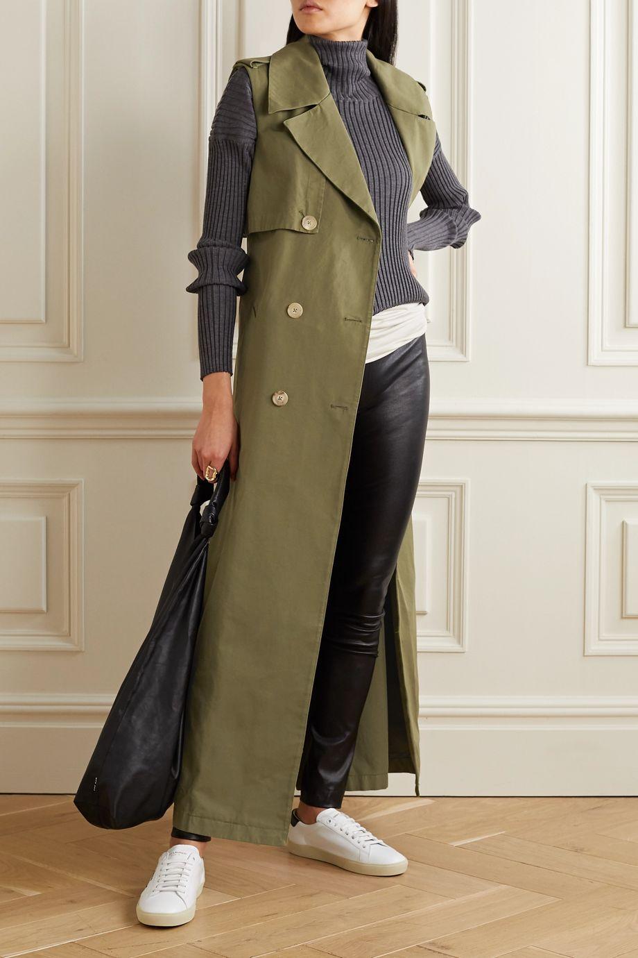AMIRI Belted cotton vest